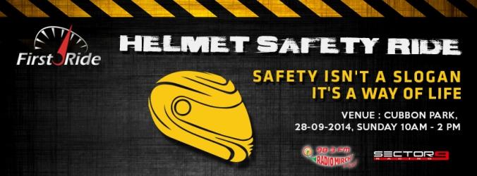 Helmet safety ride